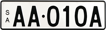 Premium Standard - Black on White example