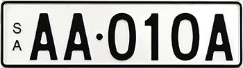 Premium Standard - Black on White example